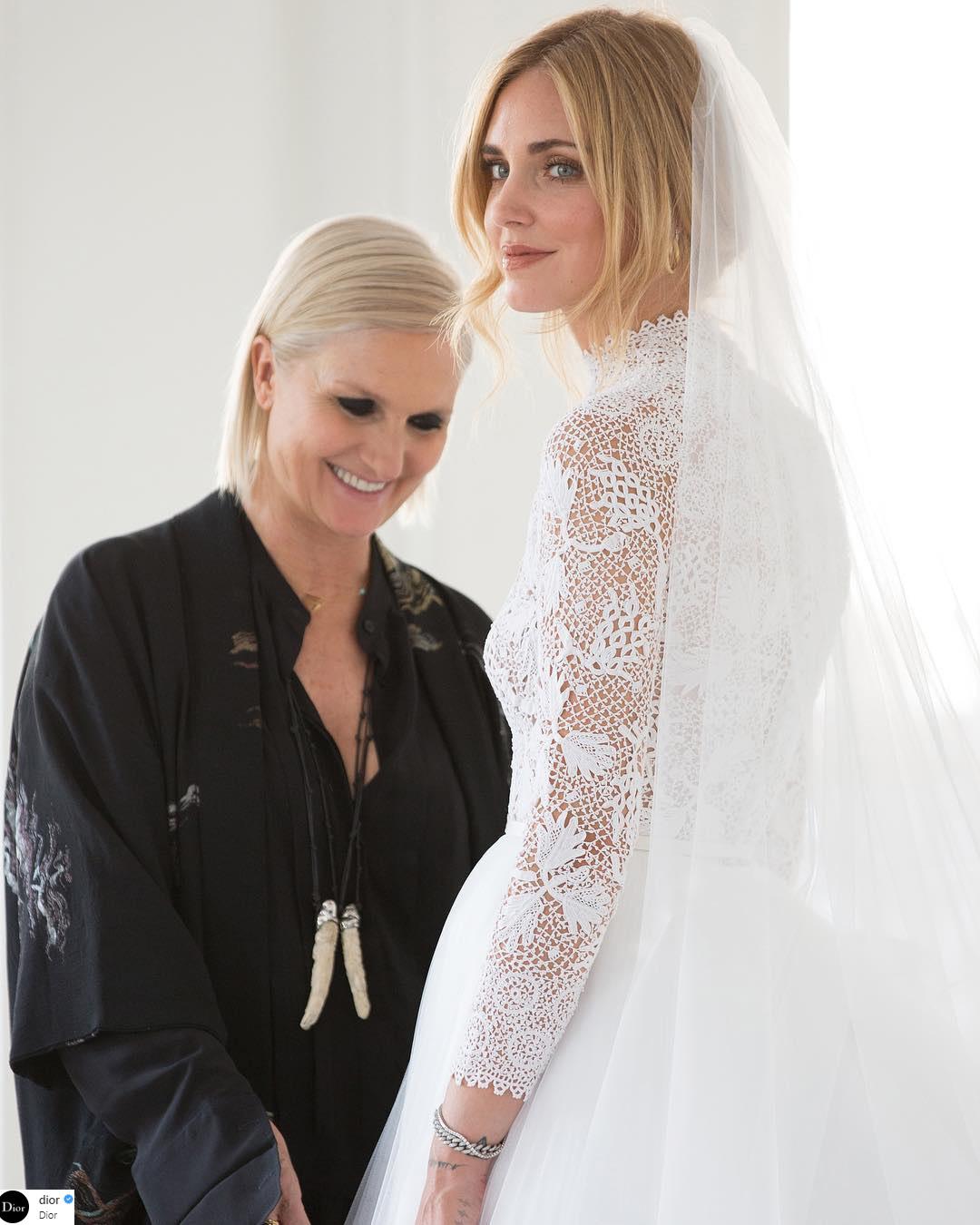 váy cưới của Chiara Ferragni 7
