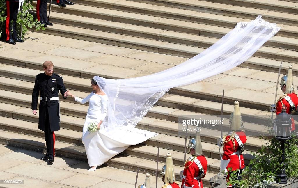 váy cưới của Meghan Markle