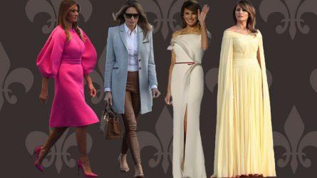 10 bộ trang phục đắt giá bậc nhất của Đệ nhất phu nhân Mỹ Melania Trump