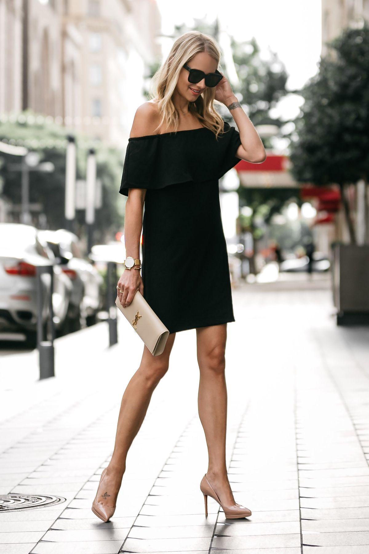 phong cách thời trang tinh tế cùng sắc trắng đen 3