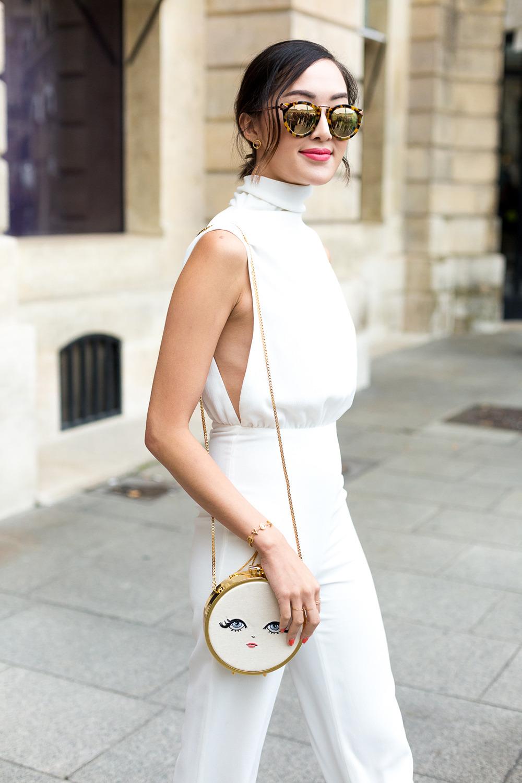 phong cách thời trang tinh tế cùng sắc trắng đen 6
