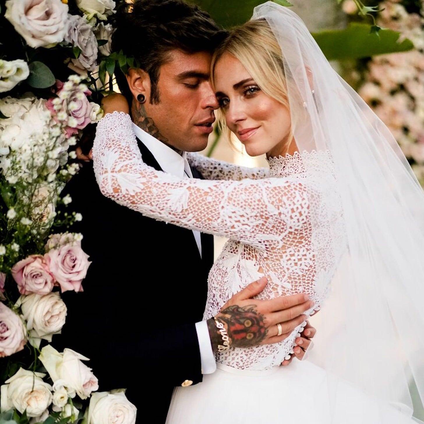 Chiara Ferragni làm đẹp đám cưới 6