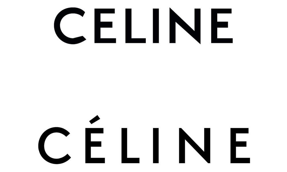 Giám đốc sáng tạo Hedi Slimane bất ngờ thay đổi logo thương hiệu Celine