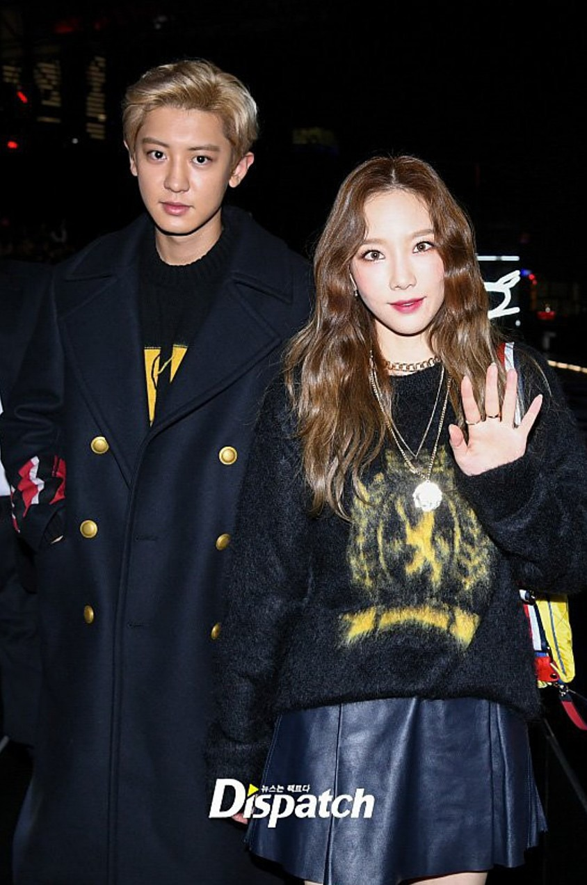 Chanyeol Taeyeon Tommy show thượng hải 6