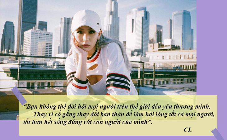 elle việt nam câu nói hay sao Hàn CL