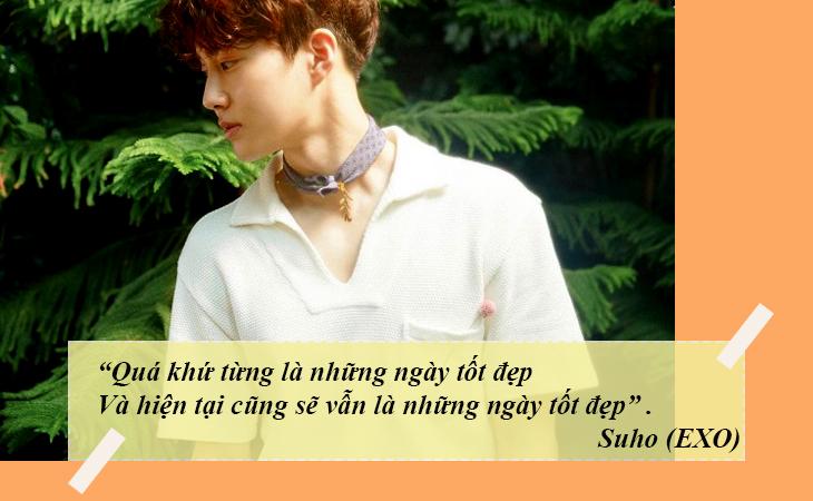 elle việt nam câu nói hay sao Hàn Suho EXO