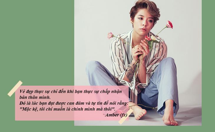 elle việt nam câu nói hay sao Hàn Amber fx