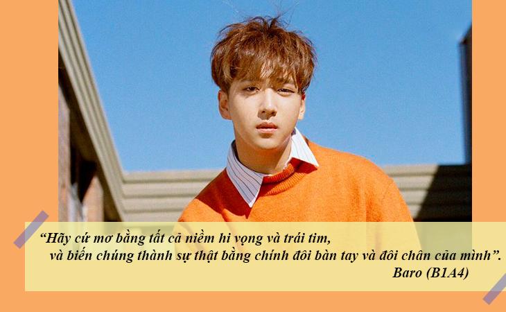 elle việt nam câu nói hay sao Hàn Baro B1A4