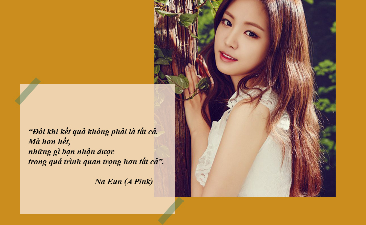 elle việt nam câu nói hay sao Hàn Na Eun A Pink