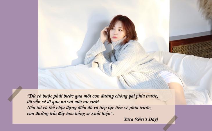 elle việt nam câu nói hay sao Hàn Yura Girl Day