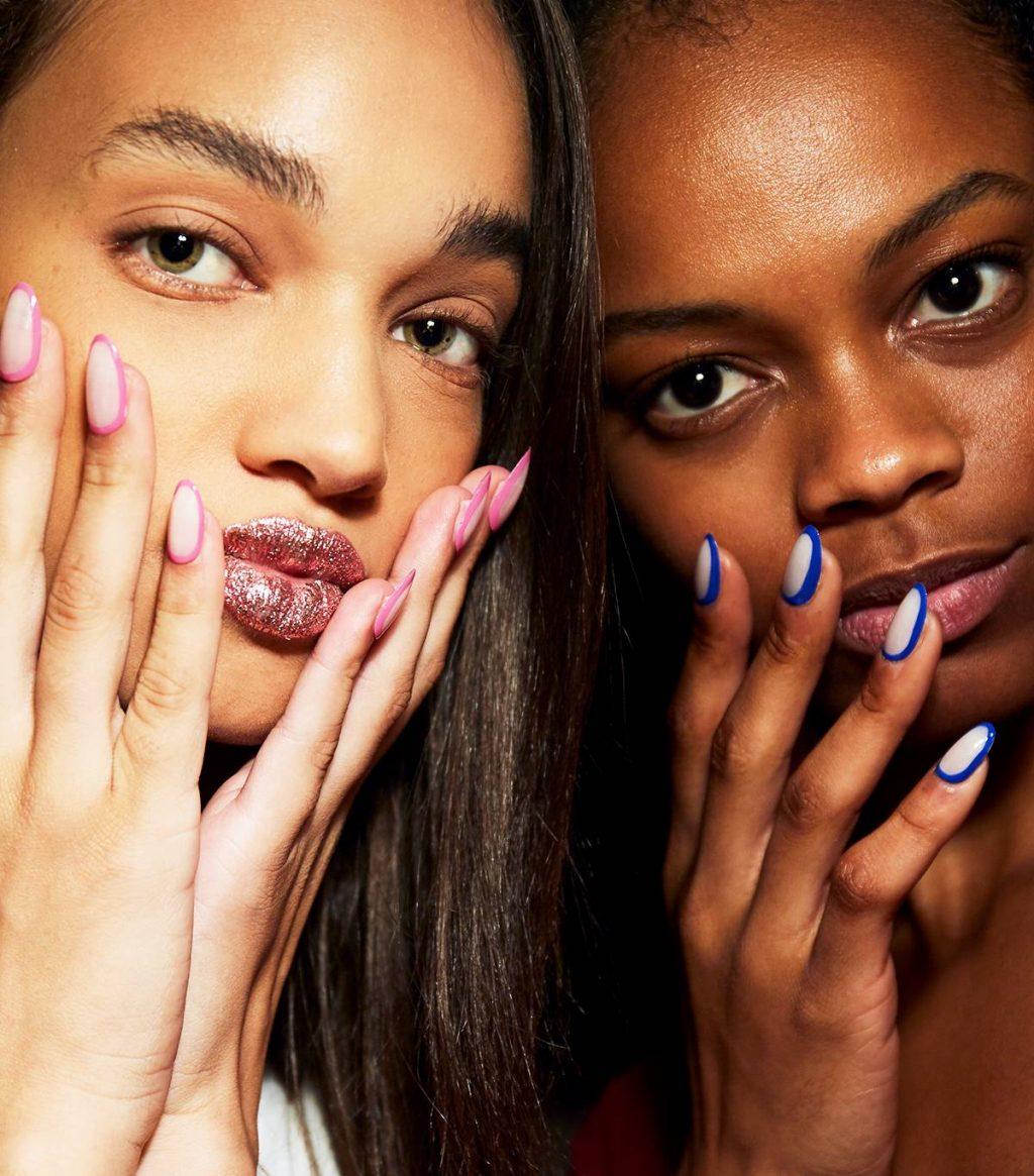 mẫu sơn móng tay tuần lễ thời trang new york xuân 2019 06