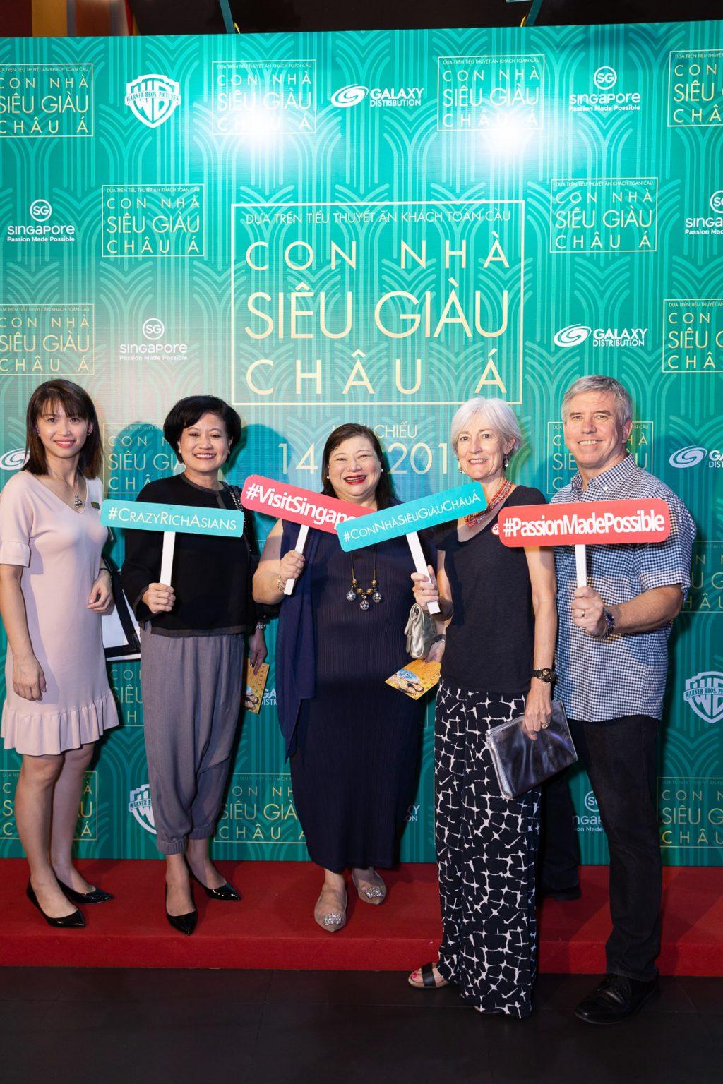 công chiếu phim Con Nhà Siêu Giàu Châu Á Crazy Rich Asians