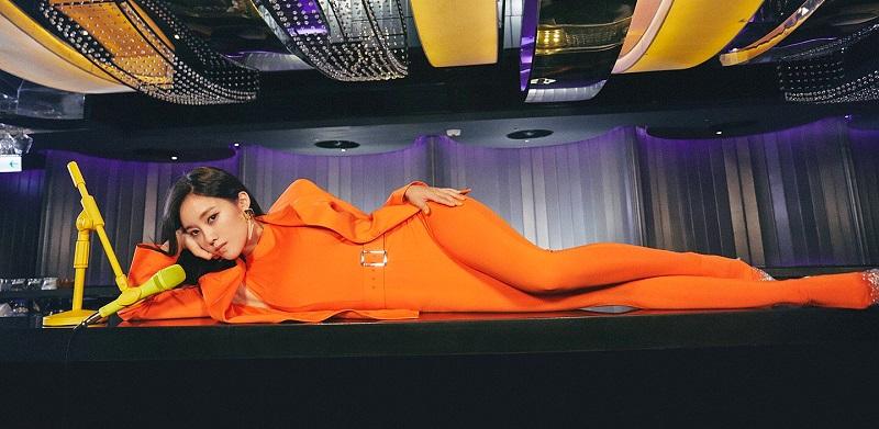 elle việt nam xu hướng màu sắc cam hyomin