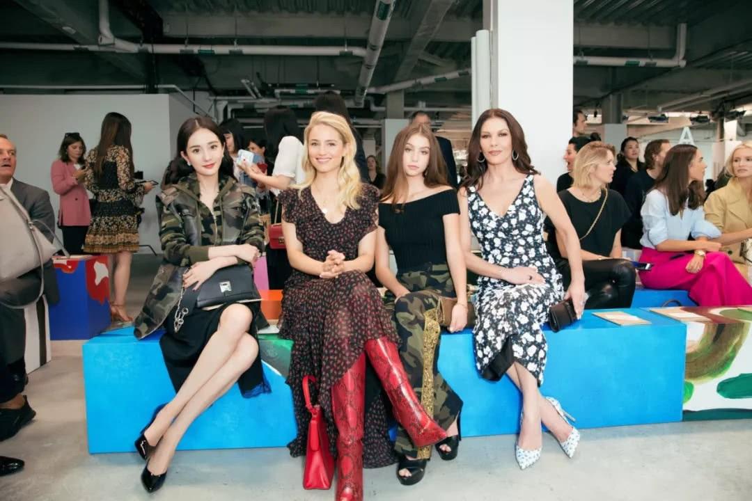 tuần lễ thời trang new york sao châu á 1