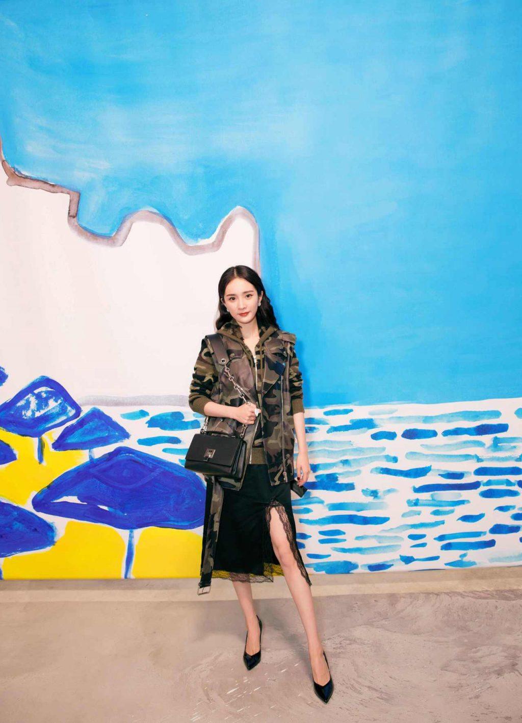 tuần lễ thời trang new york sao châu á 9