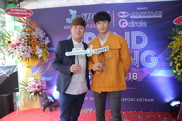 J – SPORT chính thức khai trương cửa hàng đầu tiên tại Việt Nam 02