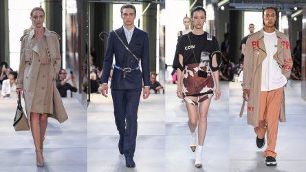BST thời trang Burberry Xuân – Hè 2019: Màn chào sân thông minh của Riccardo Tisci