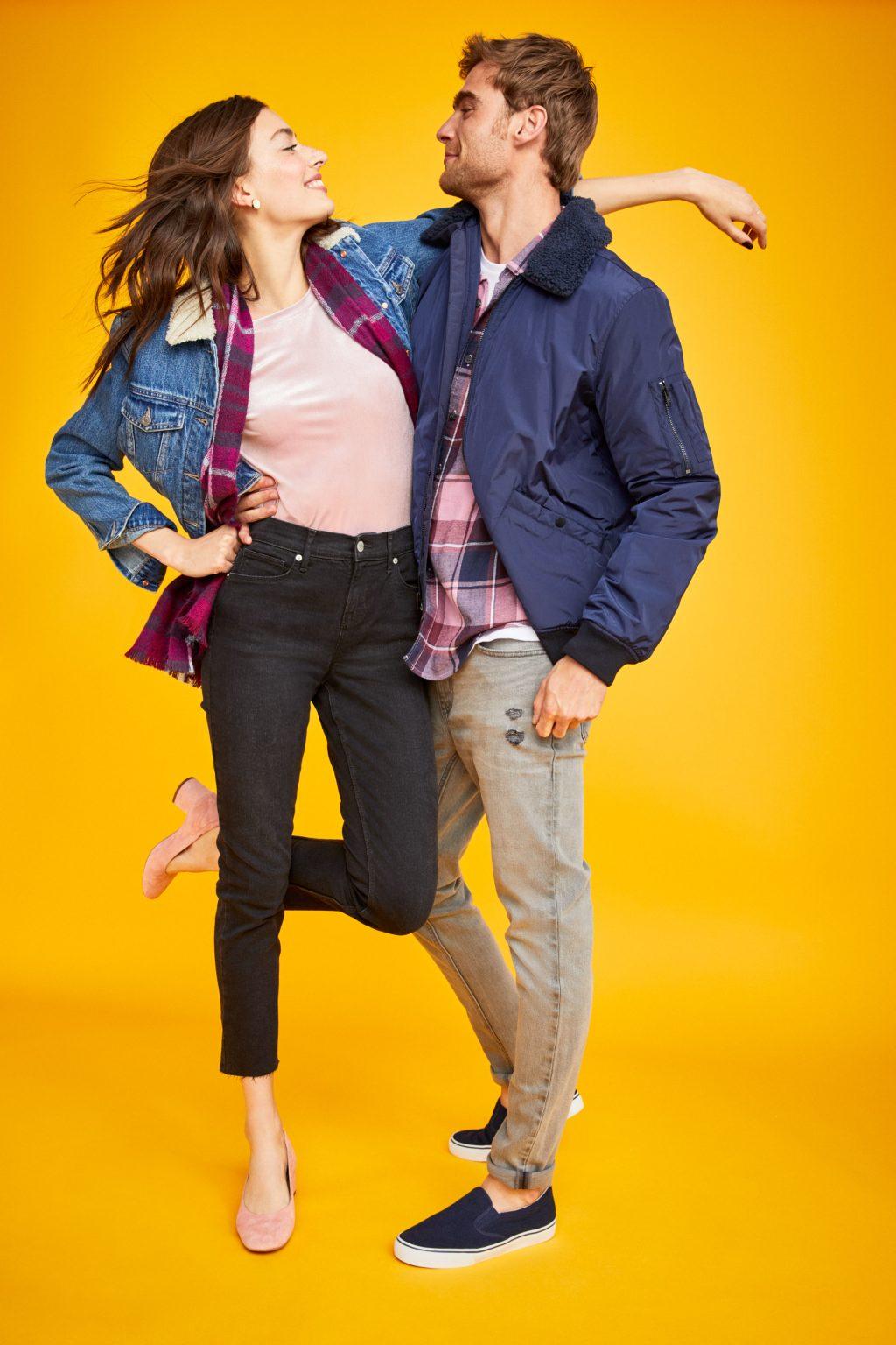 ELLE style calendar quần jeans dáng dài