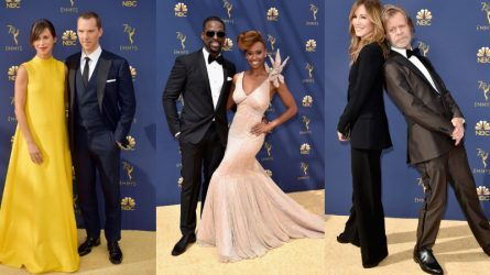 Những cặp đôi siêu dễ thương của làng giải trí US-UK xuất hiện tại thảm đỏ Primetime Emmy 2018