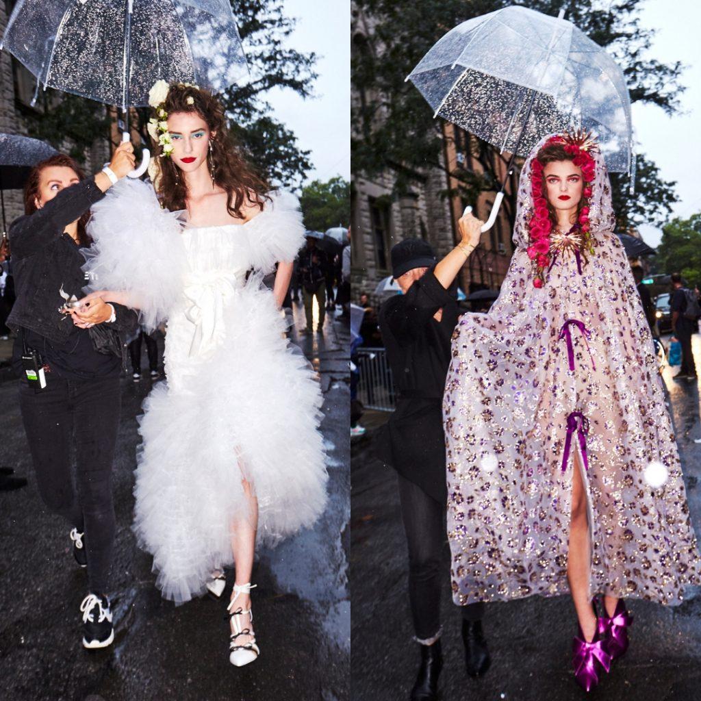dù của nữ hoàng anh tuần lễ thời trang new york 4