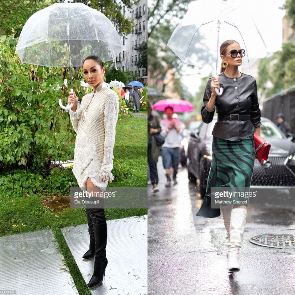 dù của nữ hoàng anh tuần lễ thời trang new york 3