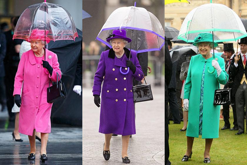 dù của nữ hoàng anh tuần lễ thời trang new york 2