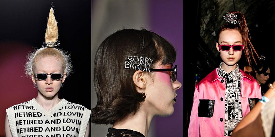 elle việt nam xu hướng phụ kiện tuần lễ thời trang london 2019 kẹp tóc