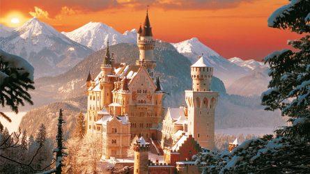 Vòng quanh khám phá những lâu đài ấn tượng nhất thế giới