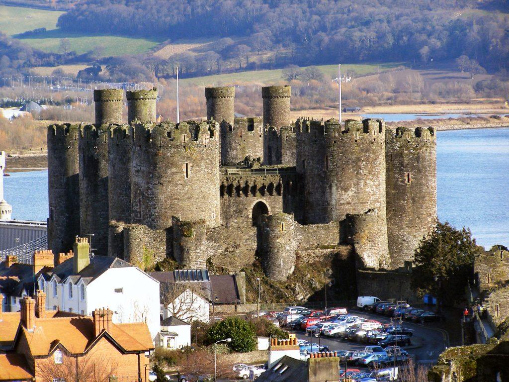 elle việt nam lâu đài Conwy 1