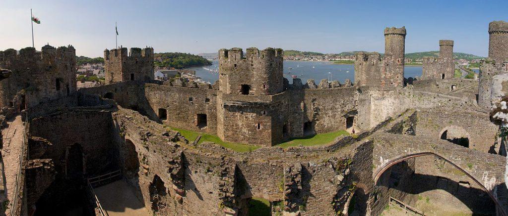 elle việt nam lâu đài Conwy 2