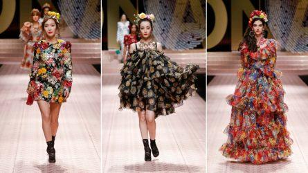 Jessica Jung, Địch Lệ Nhiệt Ba bất ngờ sải bước trên sàn diễn Dolce & Gabbana Xuân - Hè 2019