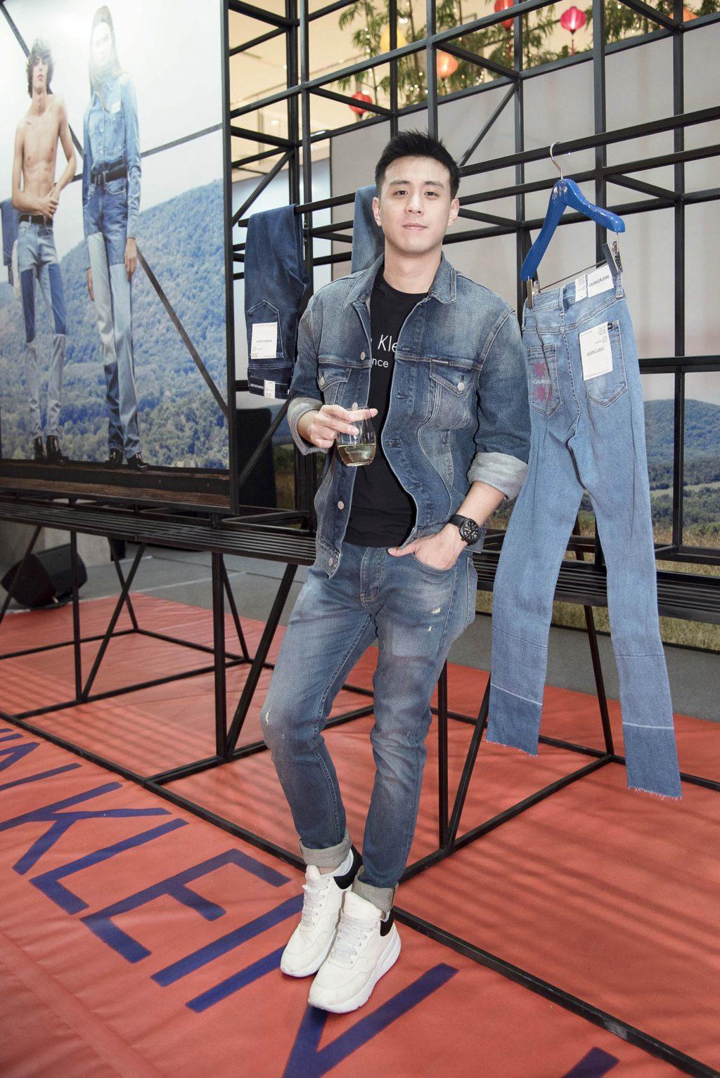 calvin klein jeans pop up store9