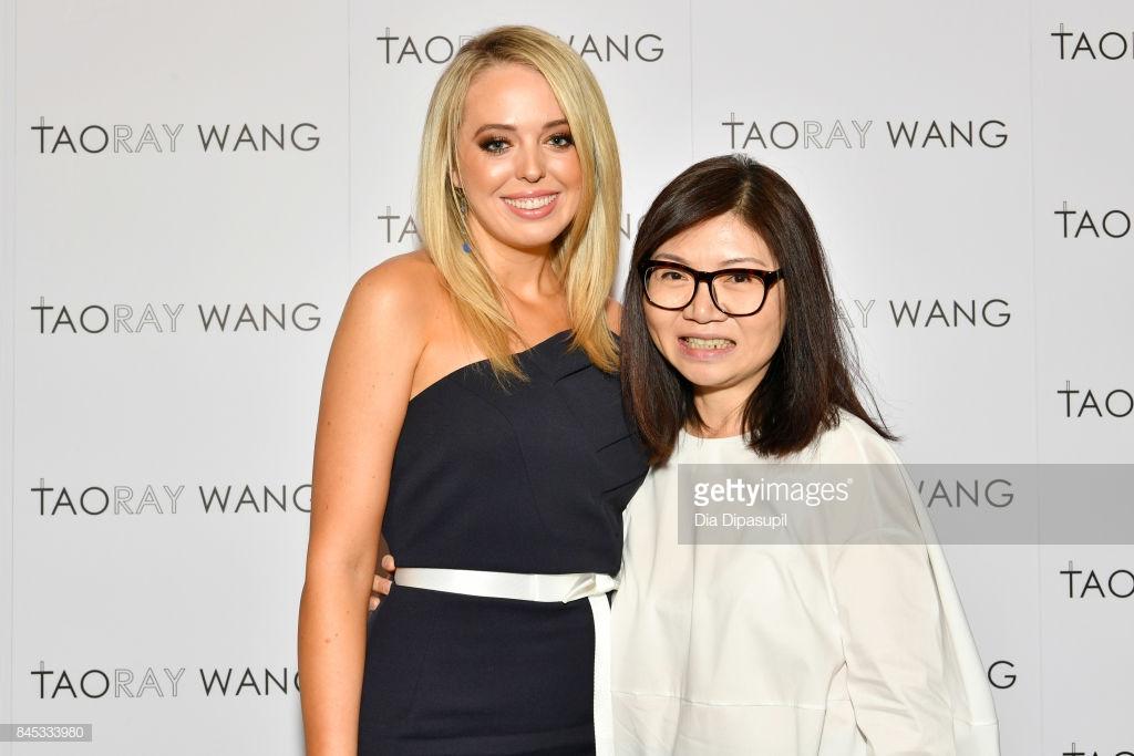 Taoray Wang là một trong những nhà thiết kế yêu thích của Tiffany Trump (Ảnh: Dia Dipasupil)