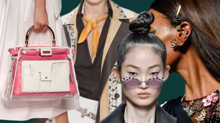 Những phụ kiện thời trang nổi bật trên sàn diễn Tuần lễ thời trang Milan 2019