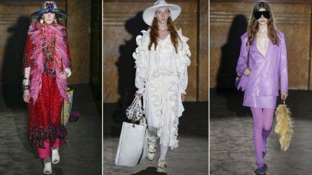 Bộ sưu tập Gucci Xuân - Hè 2019: Sự bất tử của thời trang