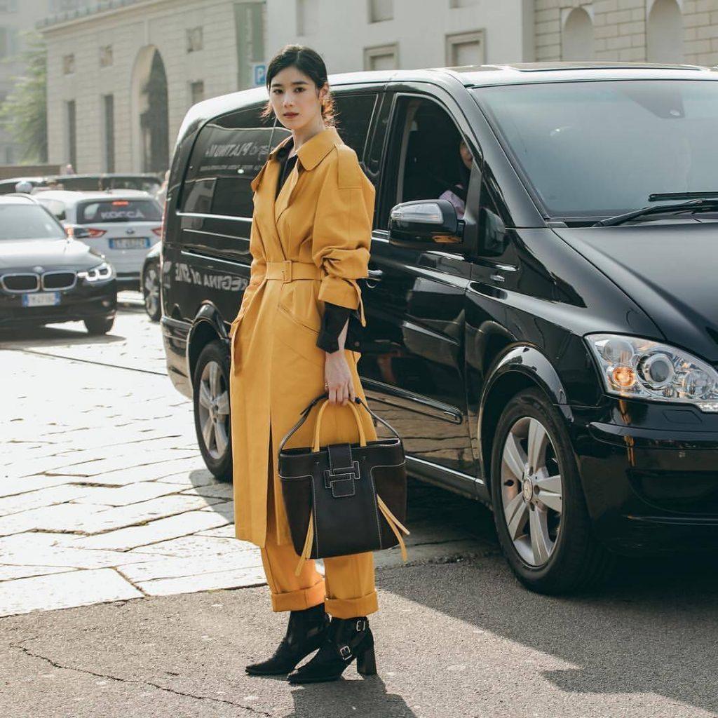 Nàng thơ châu Á tại Tuần lễ thời trang Milan 2019 2