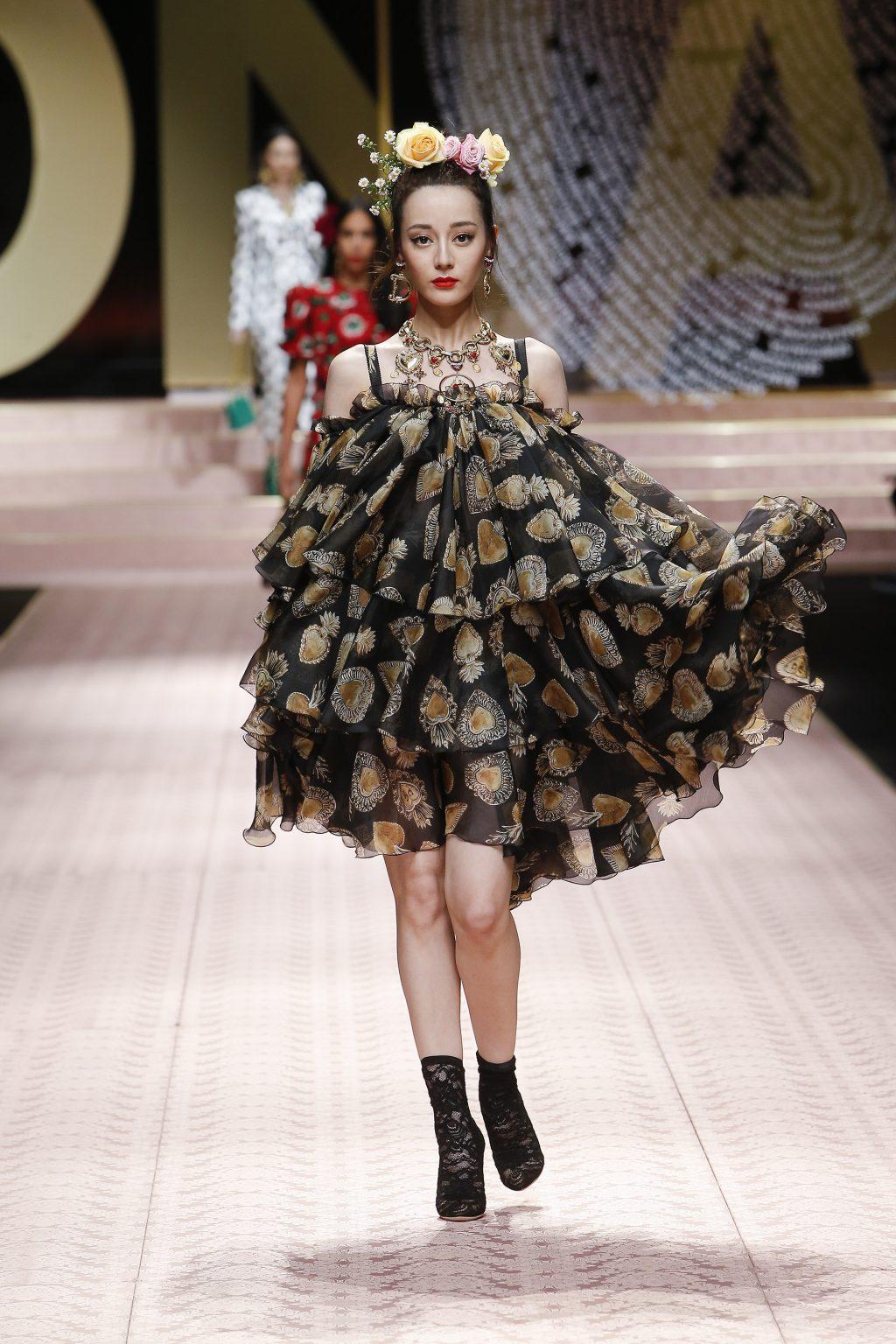 Nàng thơ châu Á tại Tuần lễ thời trang Milan 2019 18
