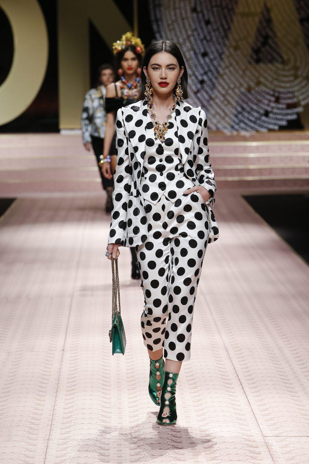 Nàng thơ châu Á tại Tuần lễ thời trang Milan 2019 17
