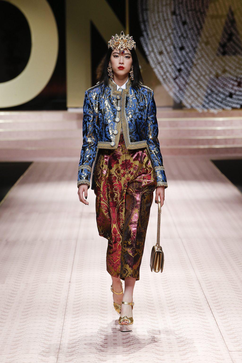 Nàng thơ châu Á tại Tuần lễ thời trang Milan 2019 19