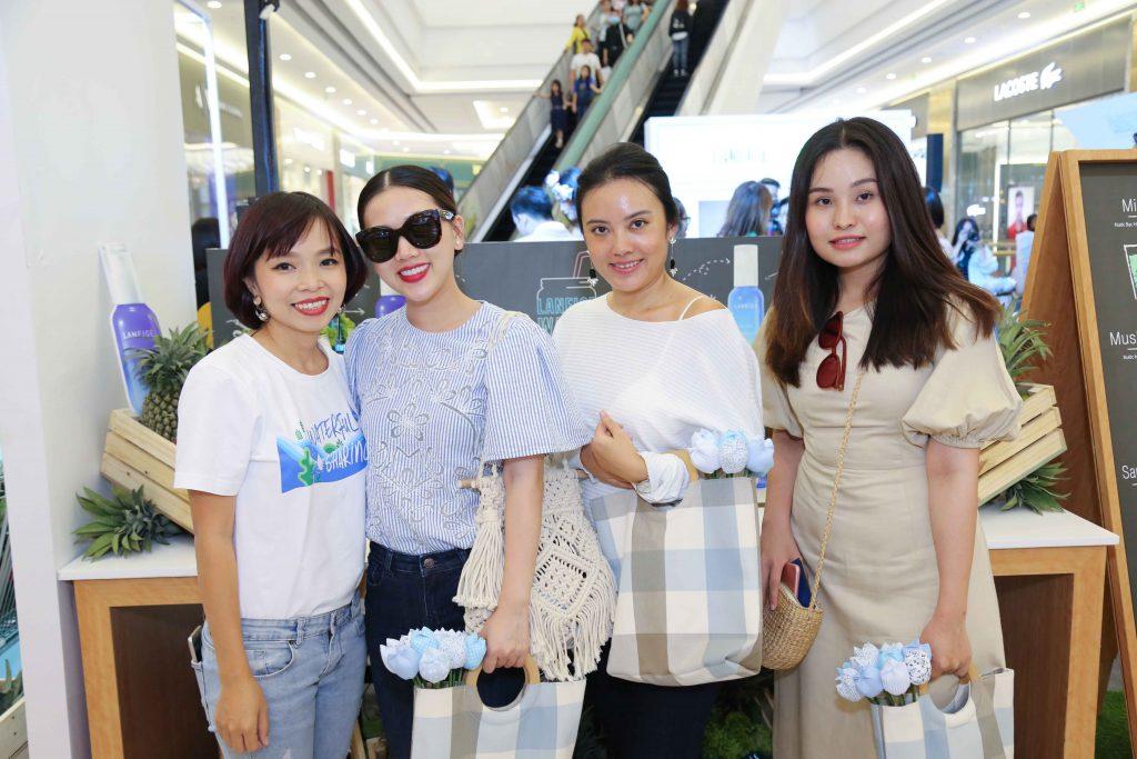 Đại diện của Laneige Việt Nam và ELLE Việt Nam.