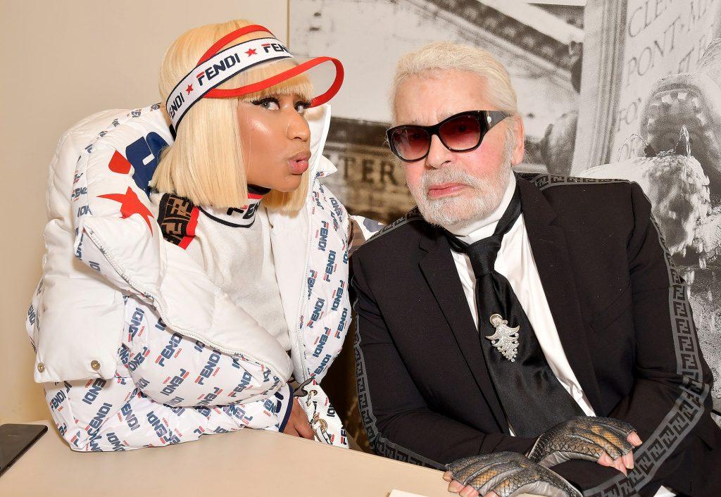 Nicki Minaj va Karl Lagereld