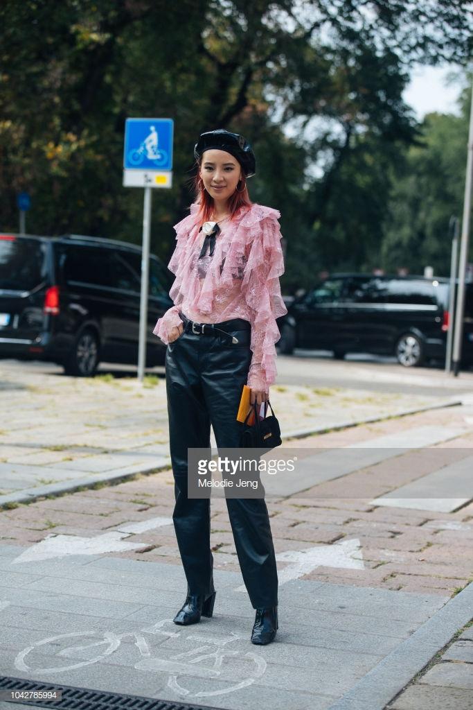 Nàng thơ châu Á tại Tuần lễ thời trang Milan 2019 12