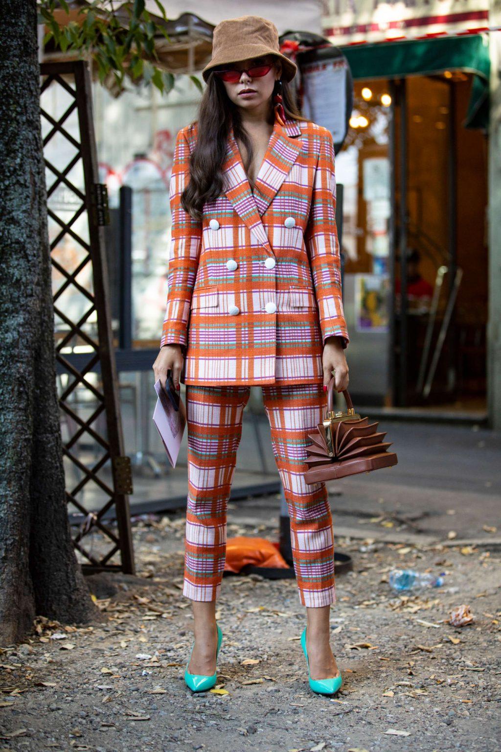 street style tuần lễ thời trang Milan phụ kiện 2