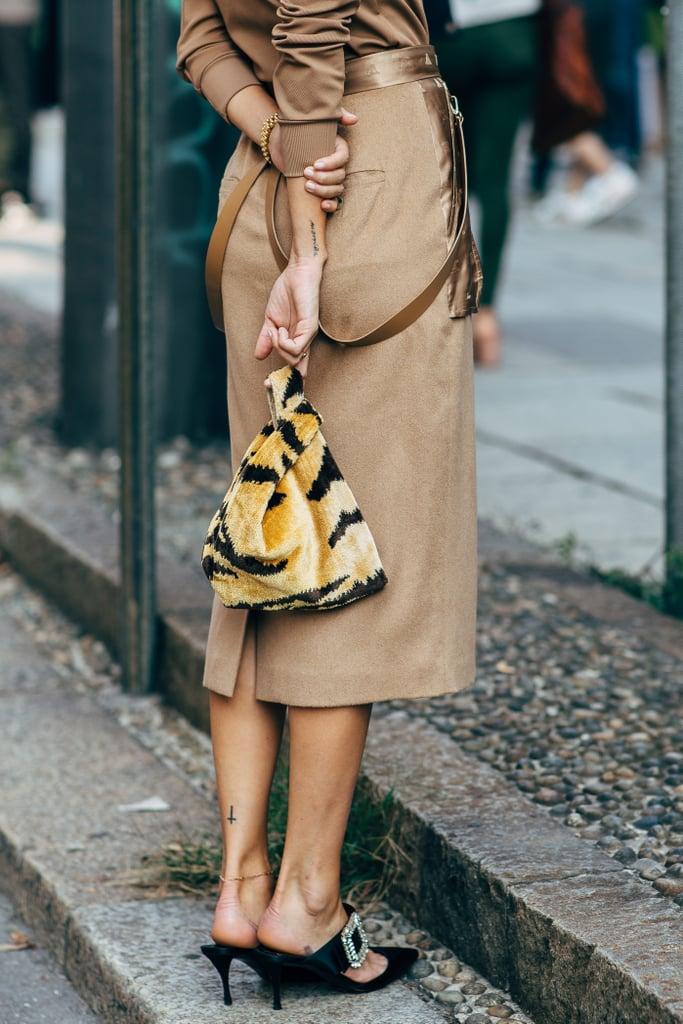 street style tuần lễ thời trang Milan phụ kiện 4