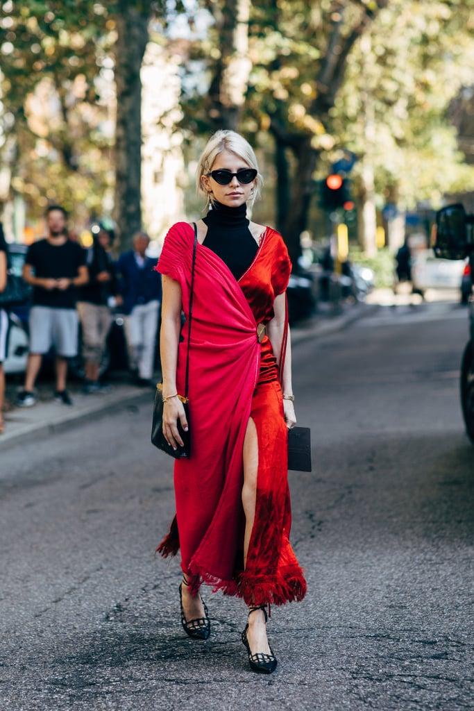 street style tuần lễ thời trang màu sắc nổi bật 4