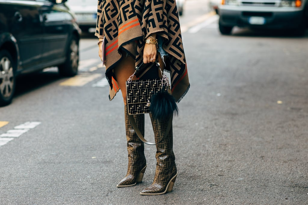 street style tuần lễ thời trang Milan phụ kiện 3