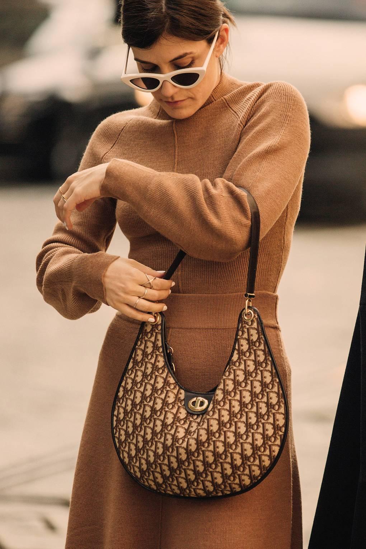street style tuần lễ thời trang Milan phụ kiện 7