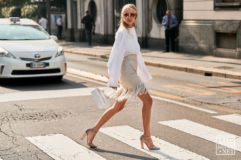 street style tuần lễ thời trang milan màu trung tính 3