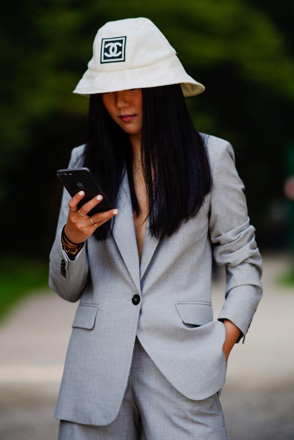 street style tuần lễ thời trang Milan phụ kiện 9