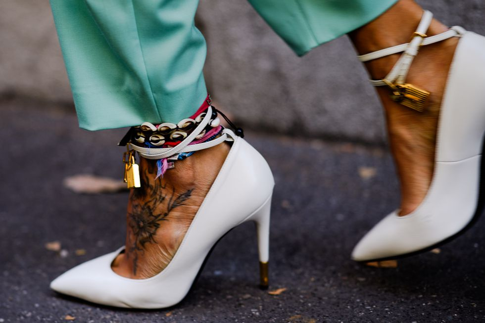 street style tuần lễ thời trang Milan phụ kiện 12